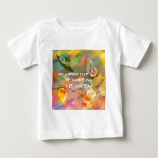 Hats and French proverb Baby T-Shirt