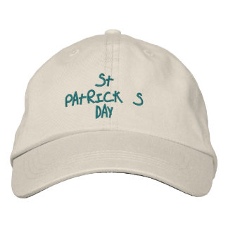 HATS CUSTOM  EMBROIDERED DESIGN ST. PATRICKS EMBROIDERED HATS