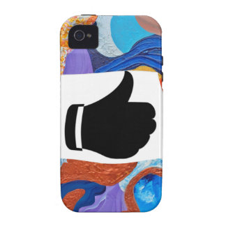 Hats Thumbs Up Case-Mate iPhone 4 Covers
