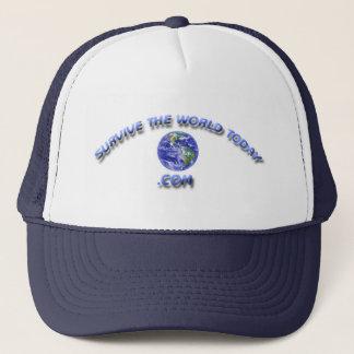 Hats With The Survivetheworldtoday.com Logo
