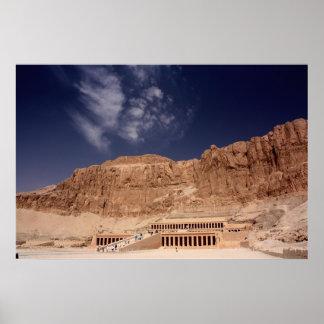 Hatshepsut's Temple Poster