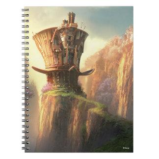Hatter House Spiral Notebook