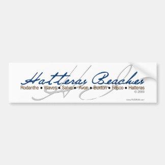Hatteras Beaches Bumper Sticker