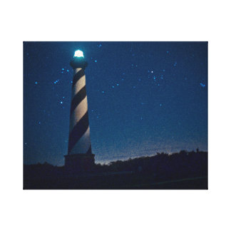 Hatteras Light. Canvas Print