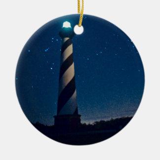 Hatteras Light. Ceramic Ornament