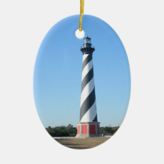 Hatteras Lighthouse OBX NC Christmas Ornament