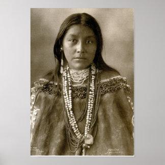Hattie Tom, Chiricahua Apache Poster