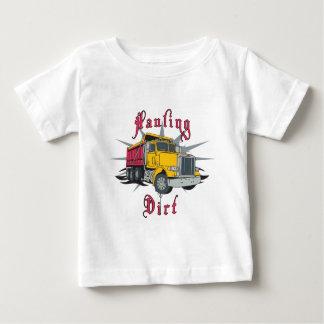 Hauling Dirt Dump Truck Baby T-Shirt