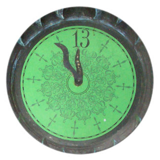 Haunted 13th Hour Clock Plate