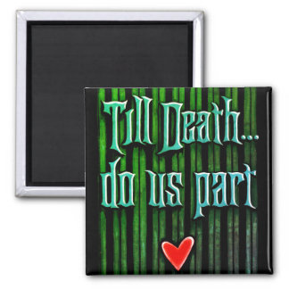 Haunted Bride Valentine Magnet