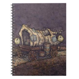 Haunted Caravan Notebook from Unreal Estate