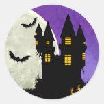 Haunted Castle Halloween Envelope Seal Stickers