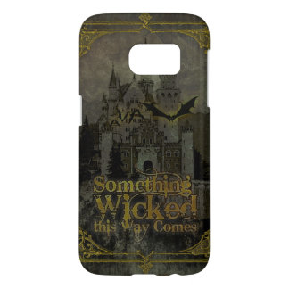 Haunted Castle Halloween Samsung Galaxy S7 Case