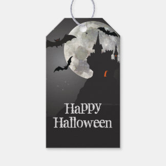 Haunted Castle Happy Halloween Pack Of Gift Tags