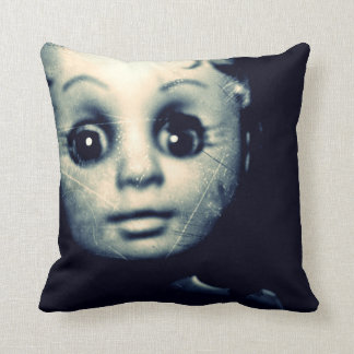 haunted doll cushion
