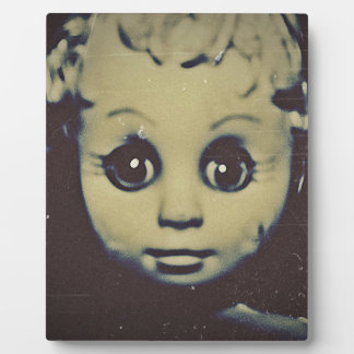 haunted doll products plaque