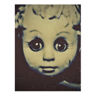 haunted doll products postcard