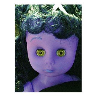 Haunted dolly Anna Postcard