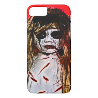 Haunted Evil Ghost Girl Airbrush Art iPhone 7 Case