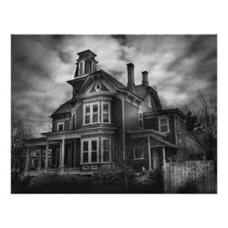 Haunted - Flemington, NJ - Spooky Town Full Color Flyer