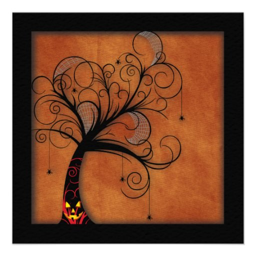 Haunted Forest Invitations