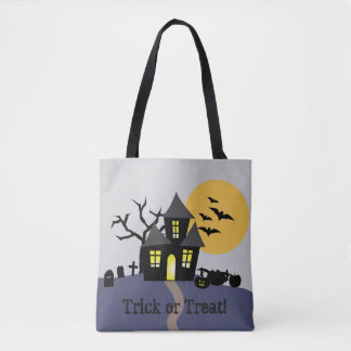 Haunted Halloween Tote