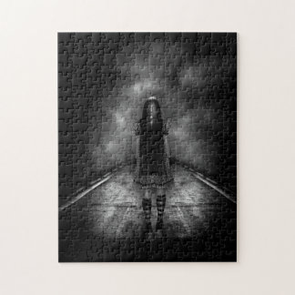 Haunted Highway Jigsaw Puzzle