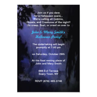 Haunted Hill House Party Invitations