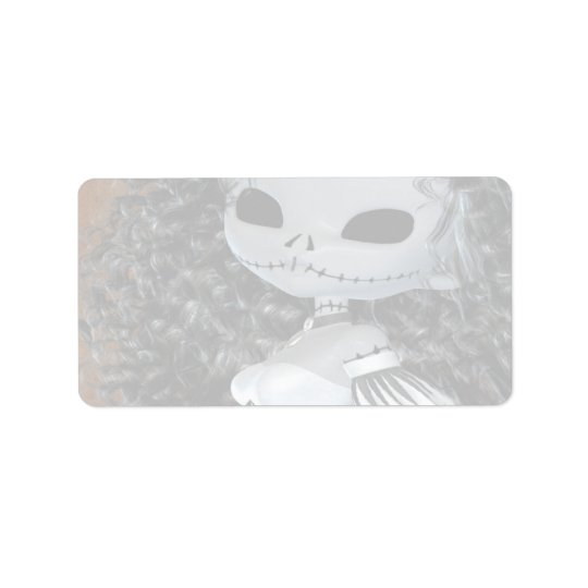 Haunted Hollow Eyes Label