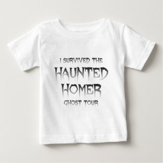 Haunted Homer Ghost Tour Apparel Baby T-Shirt