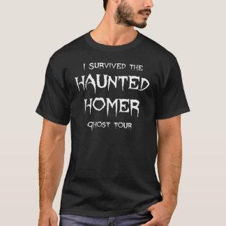 Haunted Homer Ghost Tour Tee Shirt - Dark