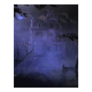 haunted-house01 custom flyer