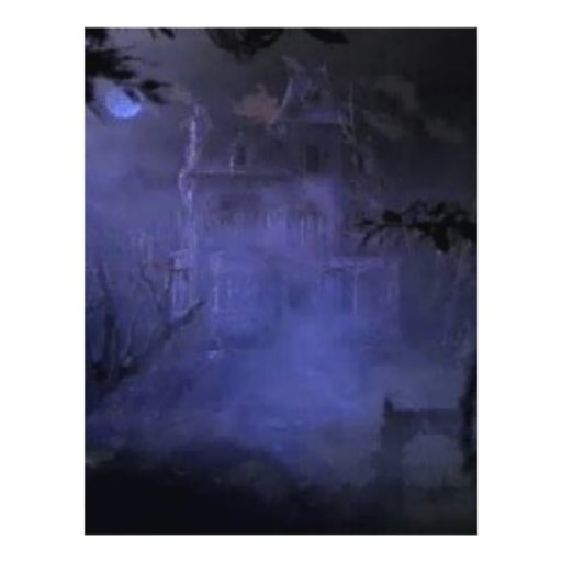 haunted-house01 flyer design