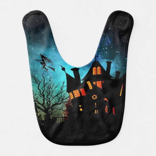 Haunted House Baby Bibs