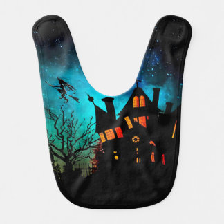 Haunted House Bib