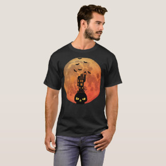Haunted House blood moon T-Shirt