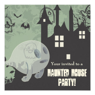 Haunted House Card