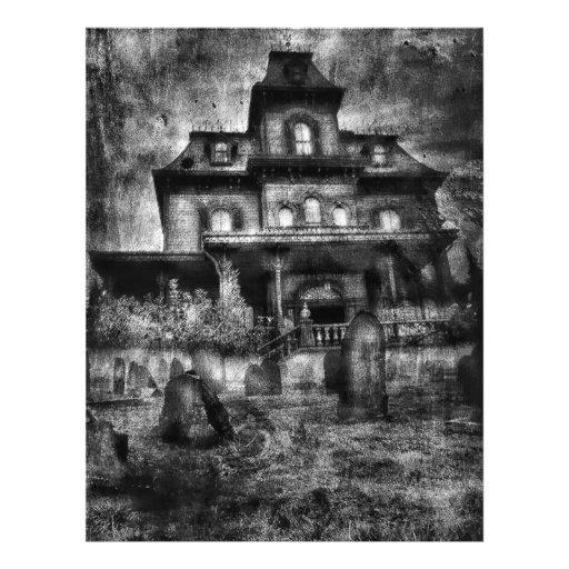 Haunted House Customizable Flyer