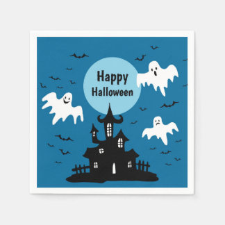 Haunted House Disposable Napkins