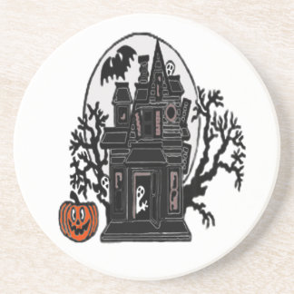 Haunted House Drink Coasters
