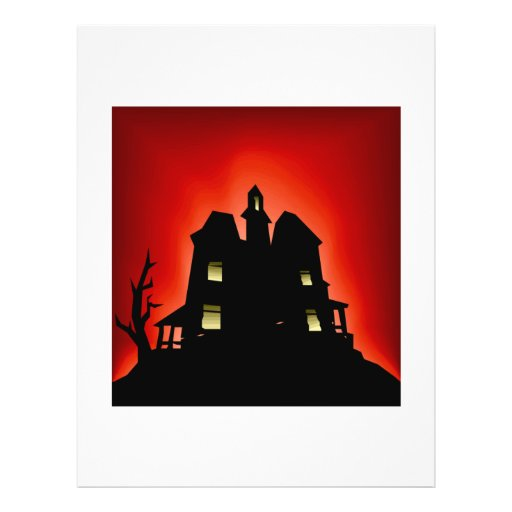 Haunted House Personalized Flyer