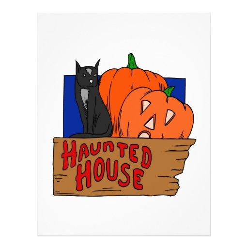 Haunted House Custom Flyer