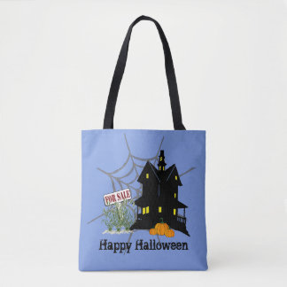 Haunted House For Sale Tote Bag