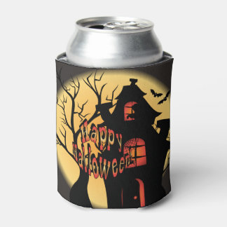 Haunted House - Halloween Can Cooler