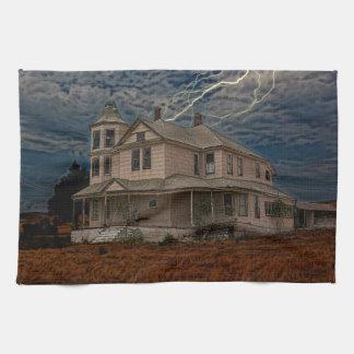 HAUNTED HOUSE KITCHEN TOWEL