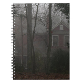 haunted house notebook