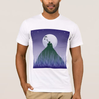 Haunted House On A Hill Mens T-Shirt
