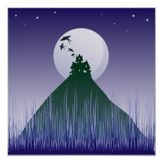 Haunted House On A Hill Poster