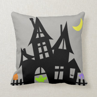 Haunted House Pillow