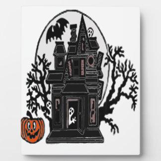Haunted House Plaque